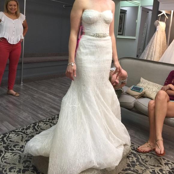 Monique Lhuillier Peony Wedding Dress
